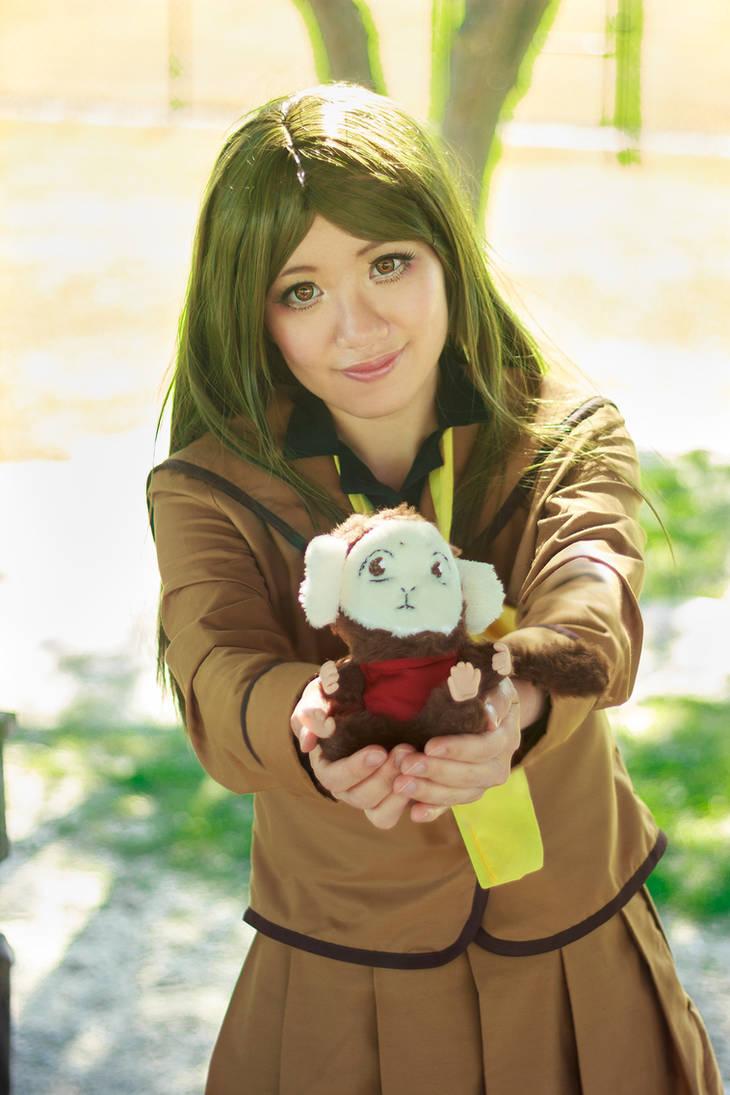 Nanami Presents Mamoru, her Shikigami Cosplay by firecloak