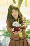 Nanami Presents Mamoru, her Shikigami Cosplay