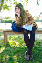 Nanami Has Nowhere To Go - Kamisama Kiss Cosplay by firecloak