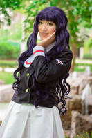 Tomoyo Daidoji Clear Card Cardcaptor Cosplay by firecloak