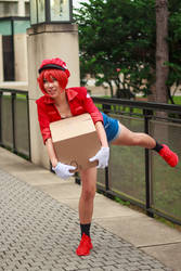 Red Blood Cell Tumbling [Cells at Work Cosplay]