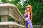 Nami OK Zou Arc Purple Dress, One Piece Cosplay