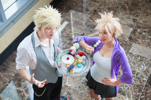 Mitsuki Takes Bakugou's Candy-BNHA Cosplay by firecloak
