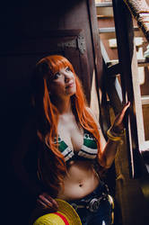 Nami: Towards the Light, One Piece Cosplay by firecloak