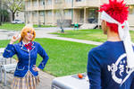 Erina Holds Egg, Food Wars Cosplay by firecloak