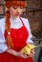 Ceony's Fortune Telling, Paper Magician Cosplay by firecloak