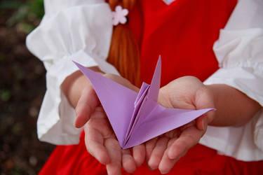 Ceony's Paper Bird Messenger, Paper Magician by firecloak