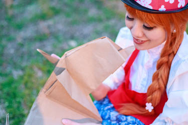 Fennel Licks Ceony-Paper Magician Cosplay by firecloak
