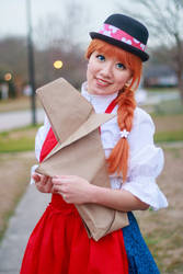 Ceony and Fennel, Paper Magician Cosplay by firecloak