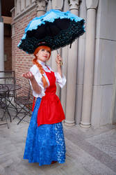 Ceony Twill's Parasol - Paper Magician Cosplay by firecloak