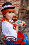 Ceony's Origami Rose - Paper Magician Cosplay by firecloak