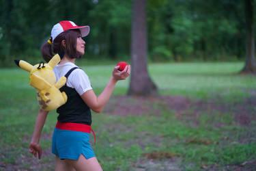 Gotta Catch em All, Let's Go Pikachu Cosplay