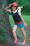 Looking for Pokemon - Let's Go Pikachu Cosplay
