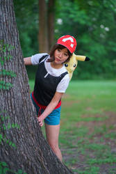 Keeping Watch - Let's Go Pikachu Cosplay