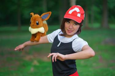 Go, Eevee - Let's Go Eevee Trainer Cosplay