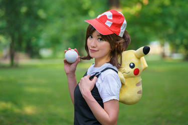My Partner Pikachu - Let's Go Pikachu Cosplay by firecloak