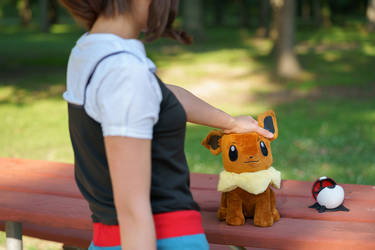 I Choose You, Eevee - Let's Go Eevee Cosplay