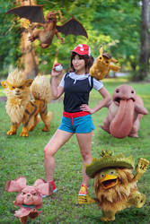 Pokemon Trainer - Detective Pikachu Cosplay by firecloak
