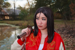 Mulan, To the Side - Cosplay