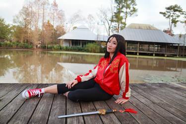 Mulan Relaxing, Wreck it Ralph 2 Cosplay