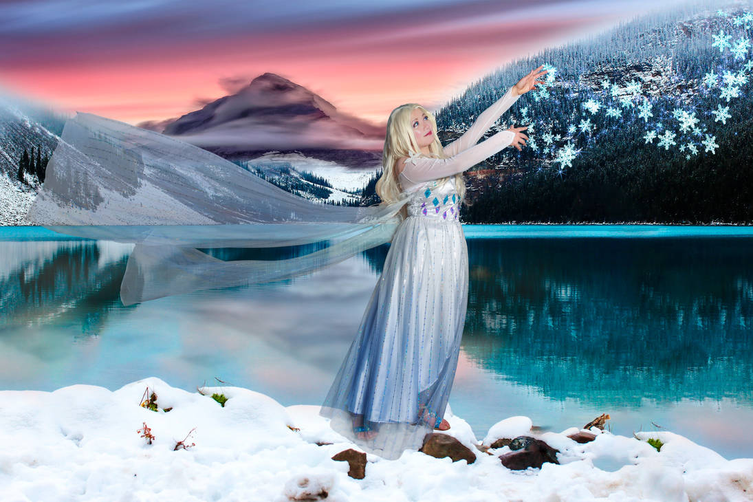 Elsa, Spirit Dress Cosplay - 5th Spirit Frozen