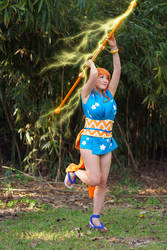 Nami's Climatact Attack - One Piece Wano Cosplay