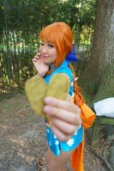 Want One - Nami Wano One Piece Cosplay