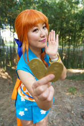 All My Coins - Nami Wano One Piece Cosplay