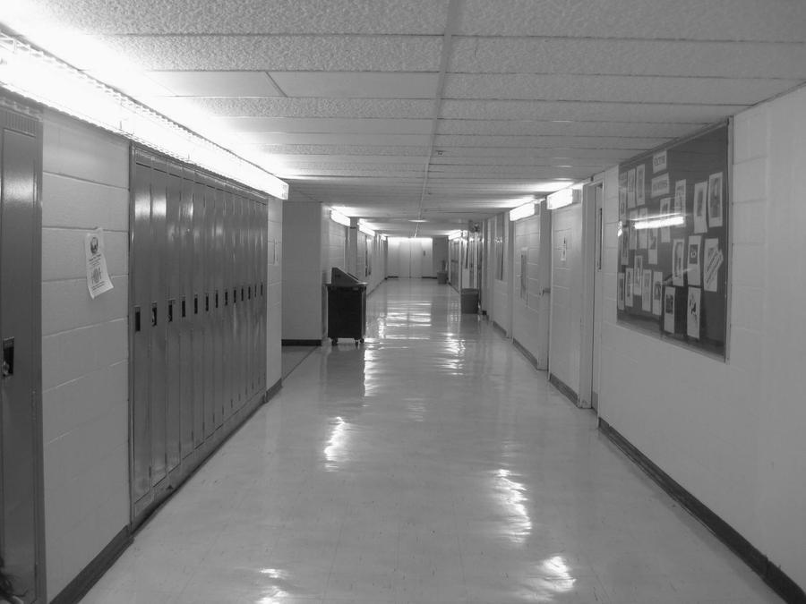 Creative Commons Attribution-No Derivative Works 3.0 License .: lightstars.deviantart.com/art/Empty-School-Hall-140691557