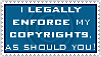 Legally Enforce Copyrights by DamselStock
