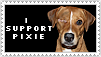 I Support Pixie Stamp by DamselStock