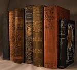 Antique Books 7 by DamselStock