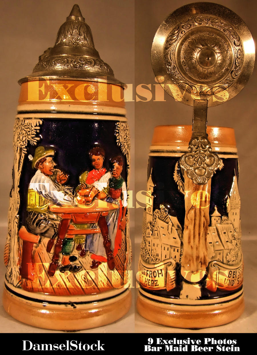 Bar Maid Stein Exclusives by DamselStock
