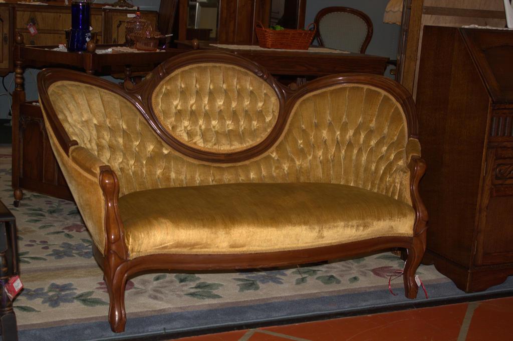 Antique Sofa by DamselStock