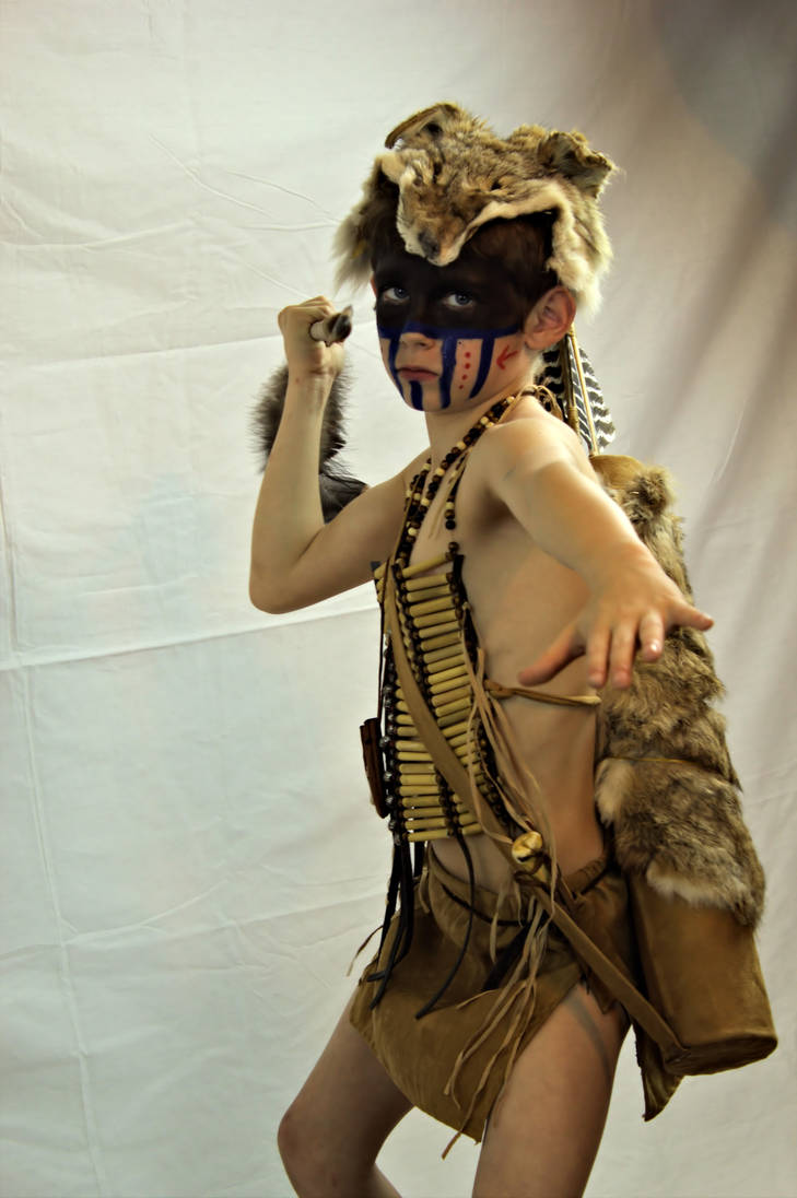Native American Indian 1 by DamselStock