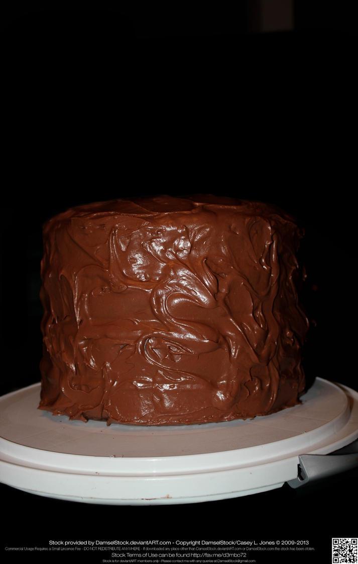 Use Round Cake Pan As Stencil