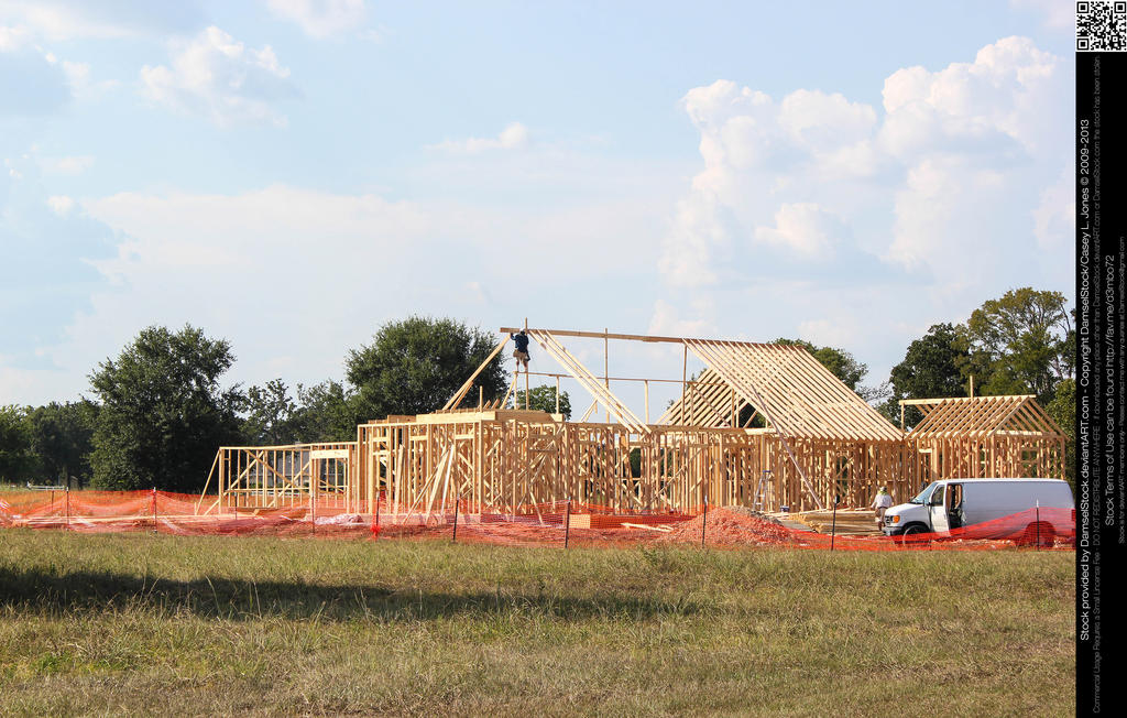 Home construction site by damselstock for Home construction websites