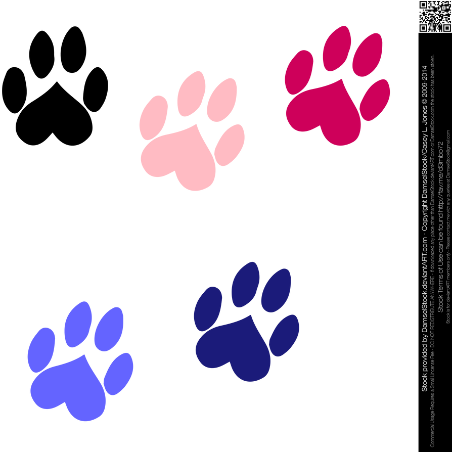 how to make a paw print