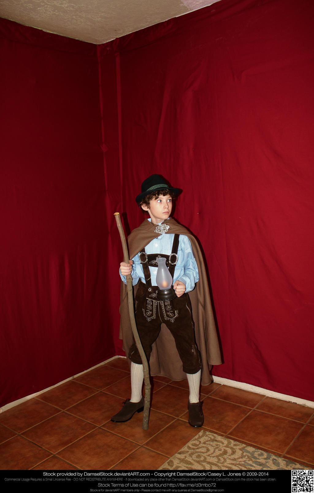 German Bavarian Boy Stock 58 by DamselStock