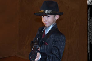 Young Gangster by DamselStock
