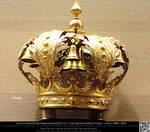 Elaborate Gold Crown