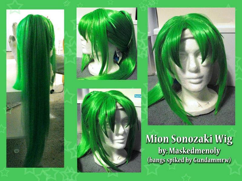 Mion Sonozaki Wig by MaskedMenoly