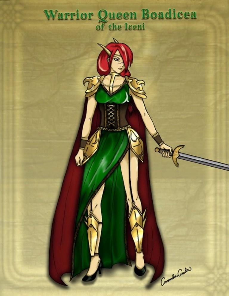 141cc10a3 Queen Boadicea of the Iceni by MaskedMenoly on DeviantArt