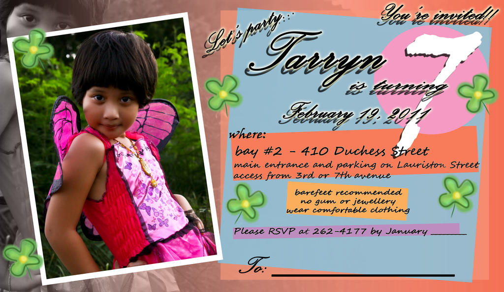 Invitation card tarryn by tommybites on deviantart invitation card tarryn by tommybites stopboris Gallery