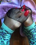 I'm n My Daughter's Socks