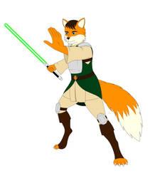 Jedi Knight by Minstregal