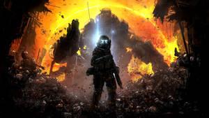 Militia Pilot - Titanfall Wallpaper