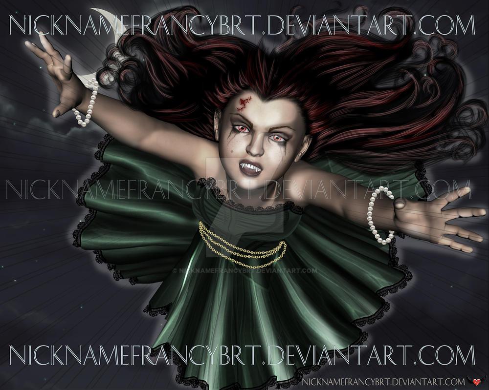 vampire by NicknameFrancyBrt