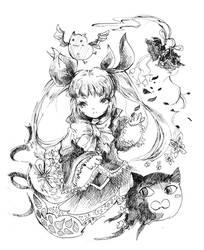 Rachel Alucard sketch