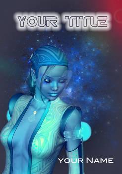 SOLD: Blue SciFi Girl